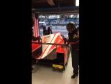 Виталий Петров на тестах  FIA WEC-2017 в итальянской Монце.