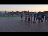 Танцы на бассейне-вечерняя анимация