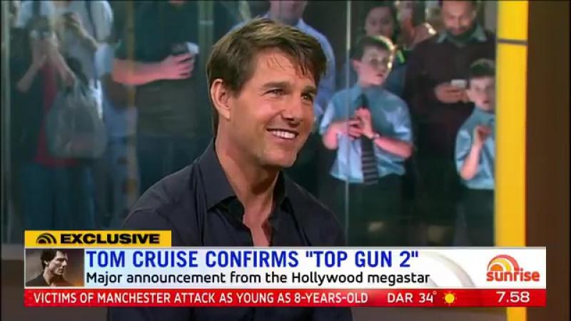 Том Круз отвечает на вопрос про Лучшего стрелка