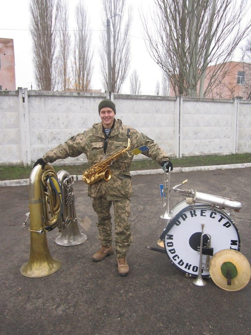 Стелу памяти погибшим морским пехотинцам открыли в Николаеве - Цензор.НЕТ 8070