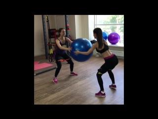Парная тренировка/popolitovTEAM/фитнес-тренер онлайн.