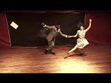 Jamin Jackson Lindy Hopping with the Sonia Ortega