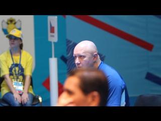 SALEK Tomas (Чехия) vs TCHIGLADZE Giorgi (Грузия). Тренер Чехии