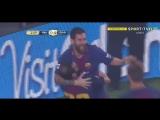 Реал 0:1 Барселона. Гол Месси