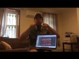 Макс Покровский репетирует Игры с огнём