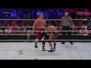 WWE - Brock Lesnar vs Triple H - Summerslam 2012