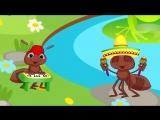КВА-КВА. Лесная мульт-песенка видео для детей. Наше ВСЁ