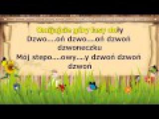 Karaoke dla dzieci Hej Sokoły nowa wersja z linią melodyczną