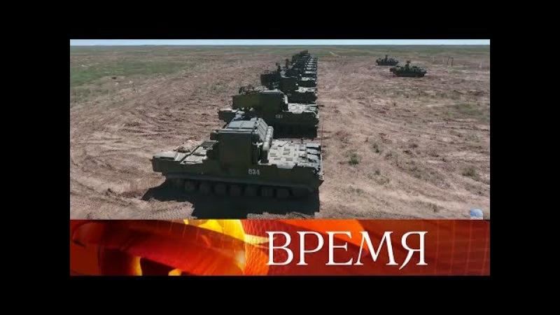 ВАстраханской области прошли первые ракетные стрельбы изновейших зенитных комплексов «Тор-М2».