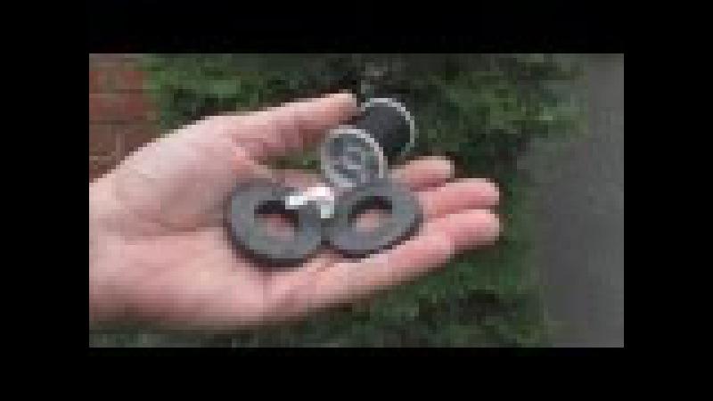 Реально работающий вечный двигатель на магнитах 2 часть