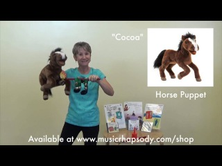 Lynn Kleiner's Puppets for Preschool Music - Cocoa the Horse
