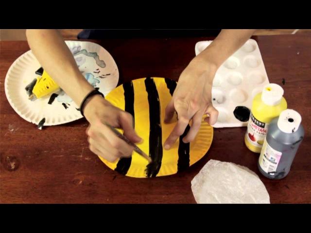 Bee Project in Preschool : Preschool Kindergarten Crafts