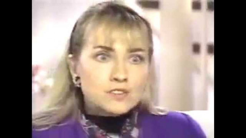 Hillary Clinton Jan. 30 1992 Primetime live Bill Clinton and Gennifer Flowers infidelity
