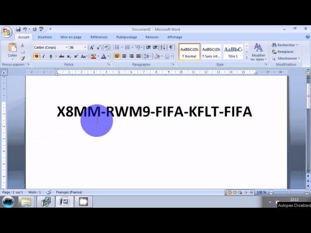 Les code fifa08