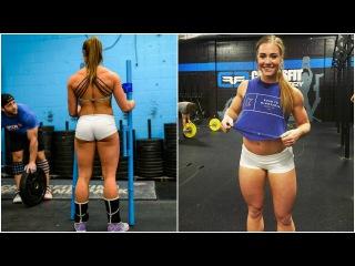 Brooke Wells Crossfit Training Hard Work