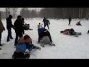 Забив Динамо(синие) vs Спартак(голый торс) | Russian hooligans fight Dinamo(blue) vs Spartak