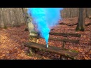 Цветная дымовая шашка Smoke Fountain Blue (Польского производства)