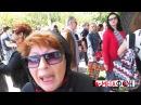 9 мая в Одессе ватницы на Аллее Славы шутят про анальный секс