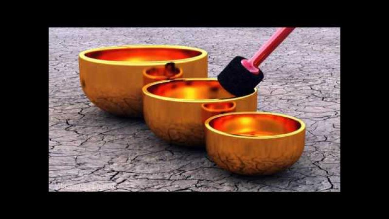 417 Гц Тибетские поющие чаши Reiki music Meditation relax