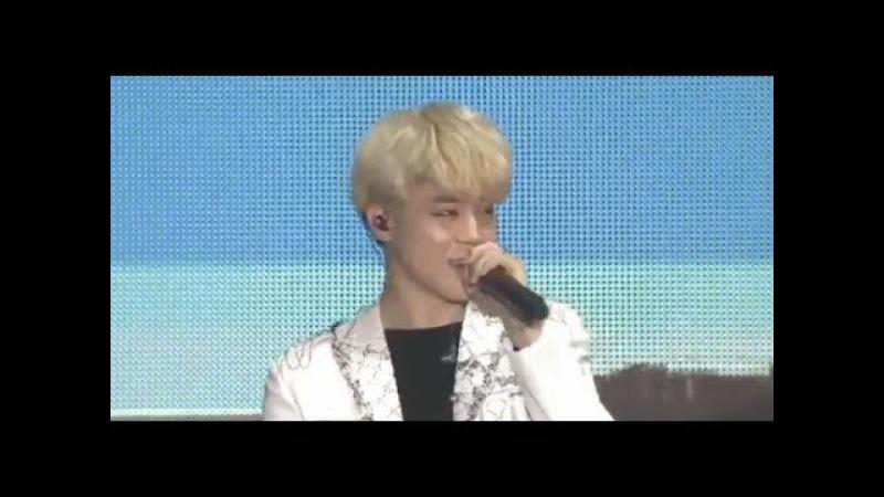 BTS Jimin's Cute Voice Blood Sweat Tears