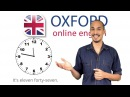 How to Tell the Time in English - Beginner English Lesson