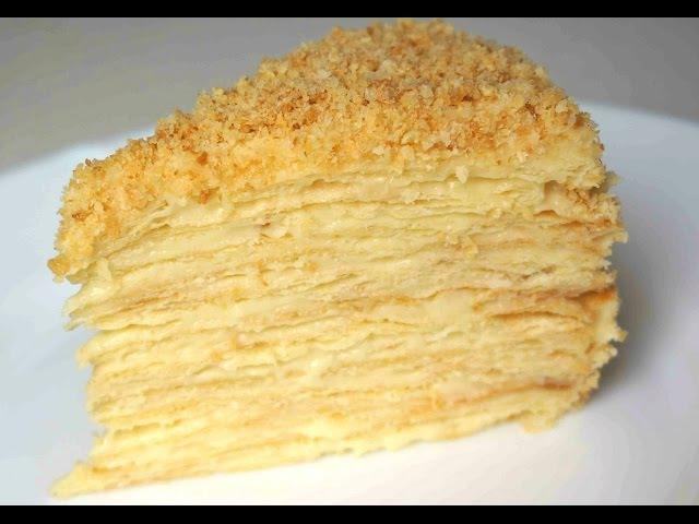Классический Торт Наполеон рецепт приготовления (Рецепт MasterVkusa)