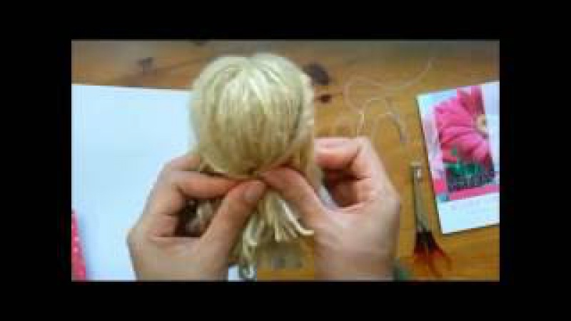 How to make easy your Dolls hair