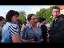 25.06.17. Николаевский зоопарк . Савченко в Николаеве: «Хотите кидать в меня яйцами – кидайте!»