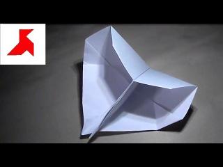 Как сделать громкую двойную хлопушку из бумаги А4? (Оригами)