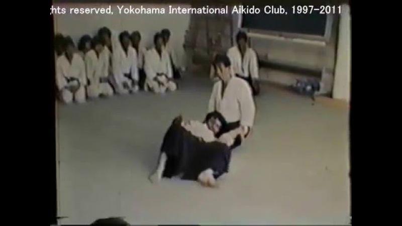 [Atsushi Mimuro Video Library] AIKIDO practice at Osaka, 1986