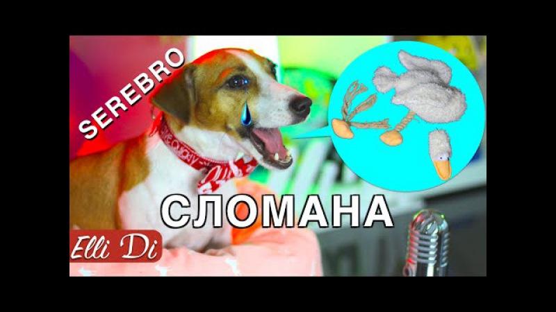 SEREBRO СЛОМАНА утка СОБАКА ДЖИНА ПОЁТ Elli Di Собаки