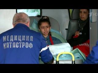 На лечение в Москву доставлена сирийская девочка, тяжело раненная во время обстрела.