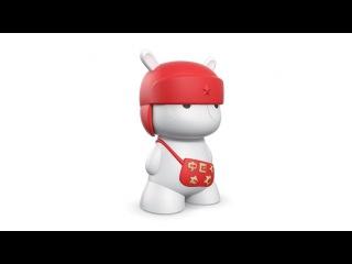 Портативна колонка игрушка кролик Xiaomi Bluetooth Speaker Mi Rabbit Red | SHOFIND
