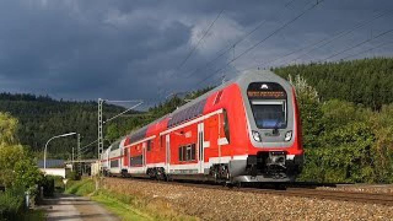 Twindexx-Testfahrten, ÖBB Cityjet und viel Güterverkehr auf der Frankenwaldbahn