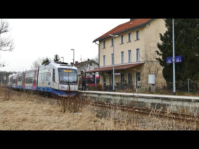Kleiner Bahnhof HP Darching zwischen Holzkirchen und Bayrischzell