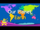 ОЦ HELLO-Kids vocabulary - Our Planet, Earth - continents oceans - English educational video for kids
