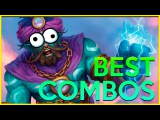 Best COMBOS! Hearthstone Funny Moments Epic Plays