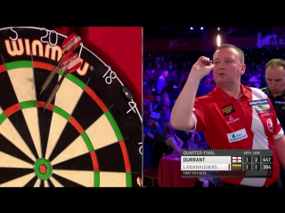 Glen Durrant vs Darius Labanauskas (BDO World Darts Championship 2017 / Quarter Final)
