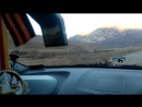 Дорога по Куртатинскому ущелью в сторону мертвого городка через кармадон, Фиагдон. ноябрь 2016г