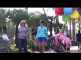Розыгрыш с ребёнком на шариках