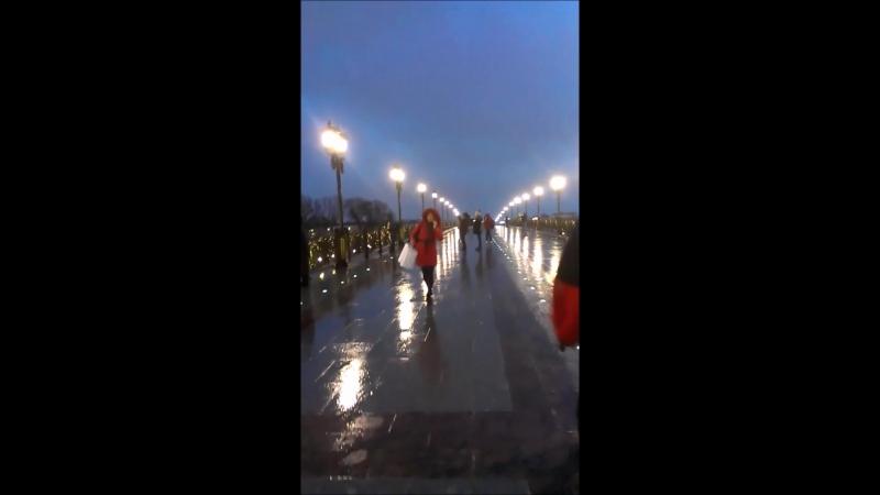 Мой фильм Москва, вид с Патриаршего моста 05.03.2017