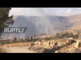 САА и Хезболла в Вади-Барада