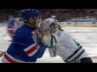 Chris Kreider Uses Helmet As Weapon In Fight