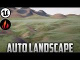 Unreal Engine 4 - Landscape Auto Material