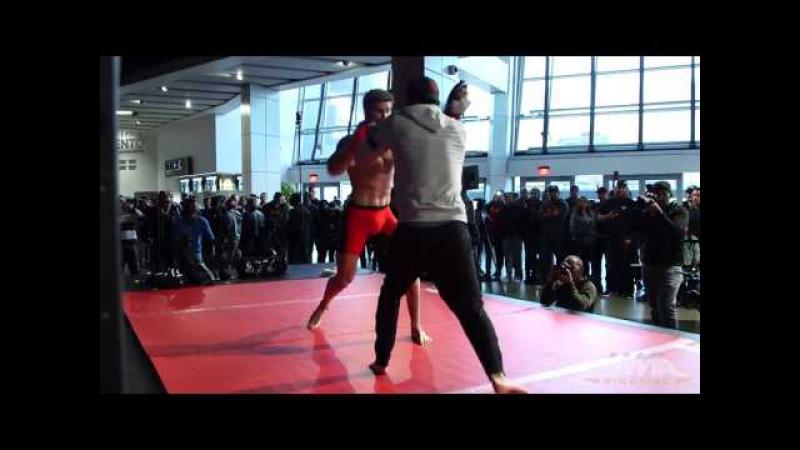 UFC on FOX 22: Sage Northcutt Open Workout (Complete)