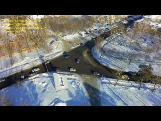 Зимний Порт поселок Тольятти