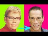 Jean-Claude Van Damme  Change from childhood to 2017