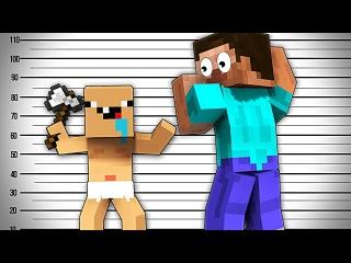 КТО ТВОЙ ПАПОЧКА? -Майнкрафт Клип | Minecraft Parody of Florida's My House
