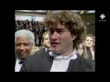 Jean-Claude Lauzon, Pierre Bourgault, Ginette Reno en vedette au Festival de Cannes de 1992.