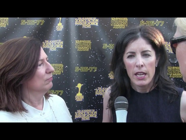 Outlander Filmmakers Toni Graphia and Maril Davis Interview at the Saturn Awards